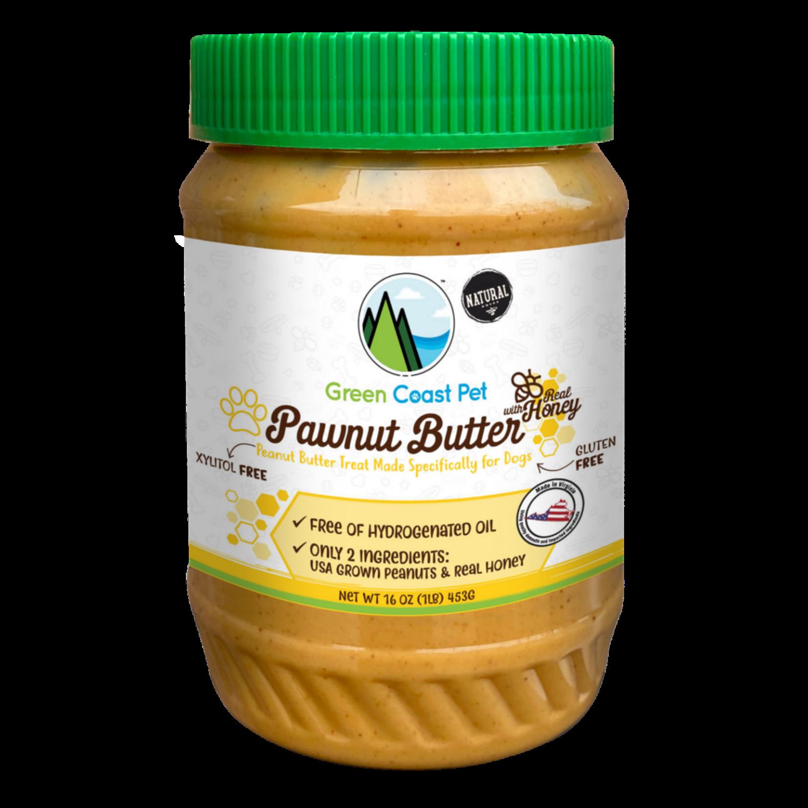 Green Coast Pet Green Coast Pet Pawnut Butter with Honey 16 OZ