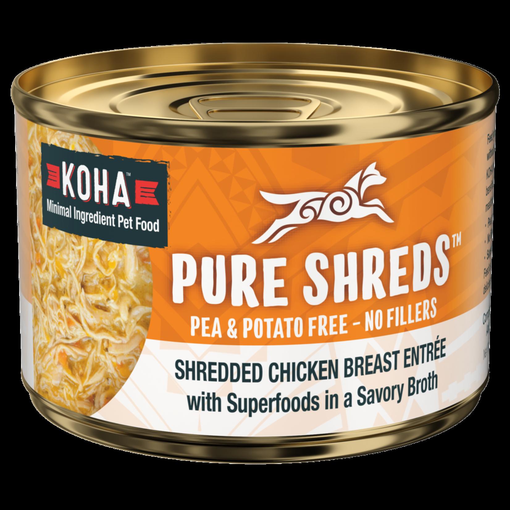 Koha Koha Dog Pure Shreds Chicken & Pumpkin 5.5 OZ