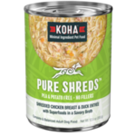 Koha Koha Dog Pure Shreds Chicken & Duck 12 OZ
