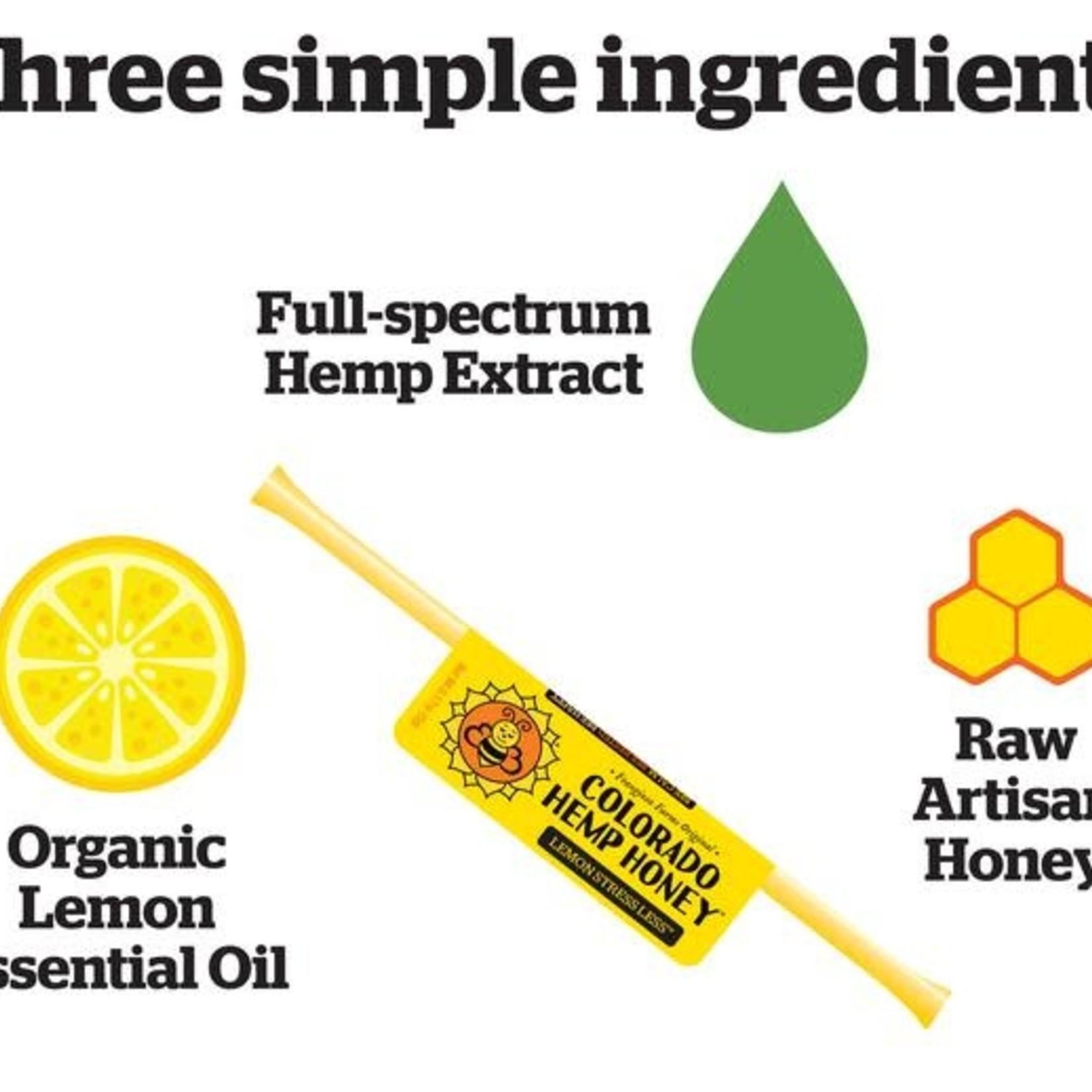 Colorado Hemp Honey Colorado Hemp Honey Lemon Stress Less Single Stick