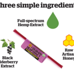 Colorado Hemp Honey Colorado Hemp Honey Elderberry Support Single Stick