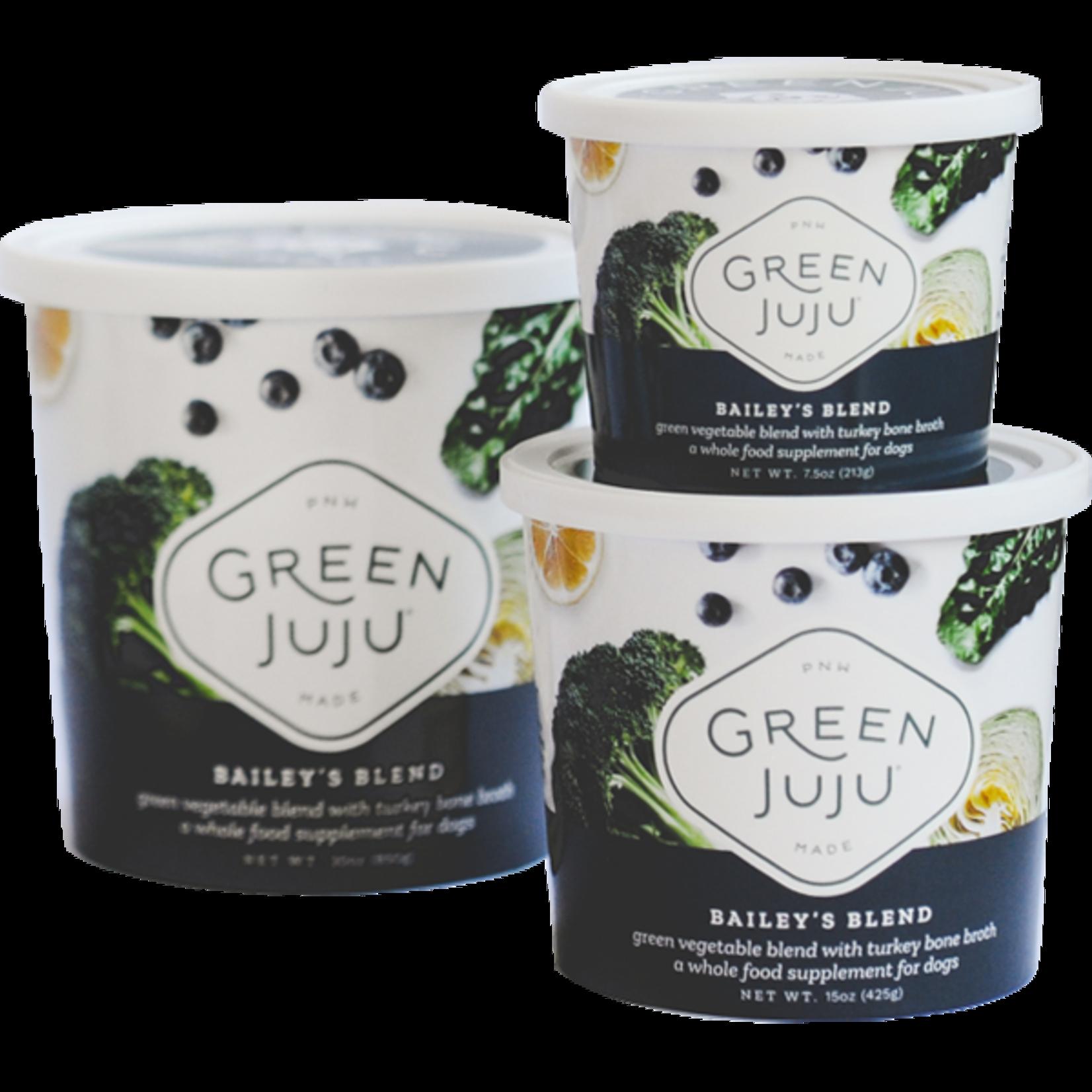 Green Juju Frozen Super Food Bailey's Blend 7.5 OZ