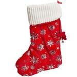 HuggleHounds HuggleHounds Dog Christmas Glitz Stocking