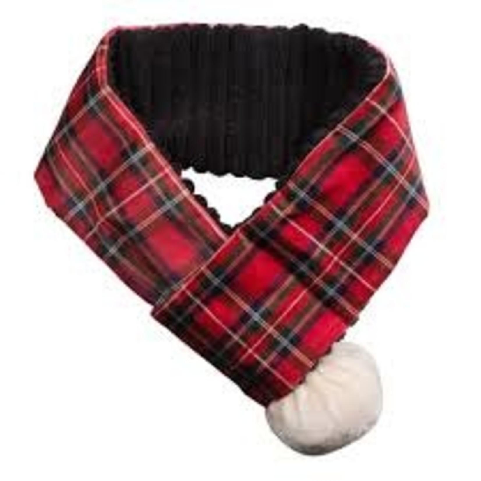 HuggleHounds HuggleHounds Christmas Tartan Scarf Large