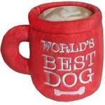 Huxley & Kent Lullabelles Power Plush Worlds Best Dog Mug Large