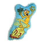Yeoww Ducky World Inc. Ducky World Yeow! Dreidel Krinkle Catnip Toy