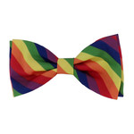 Huxley & Kent Bow Tie Rainbow Large
