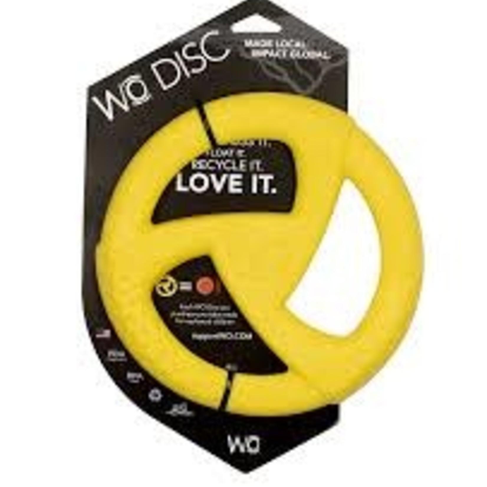 WO WO Dog Disc Yellow