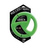WO WO Dog Disc Green