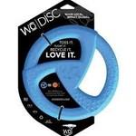 WO WO Dog Disc Blue