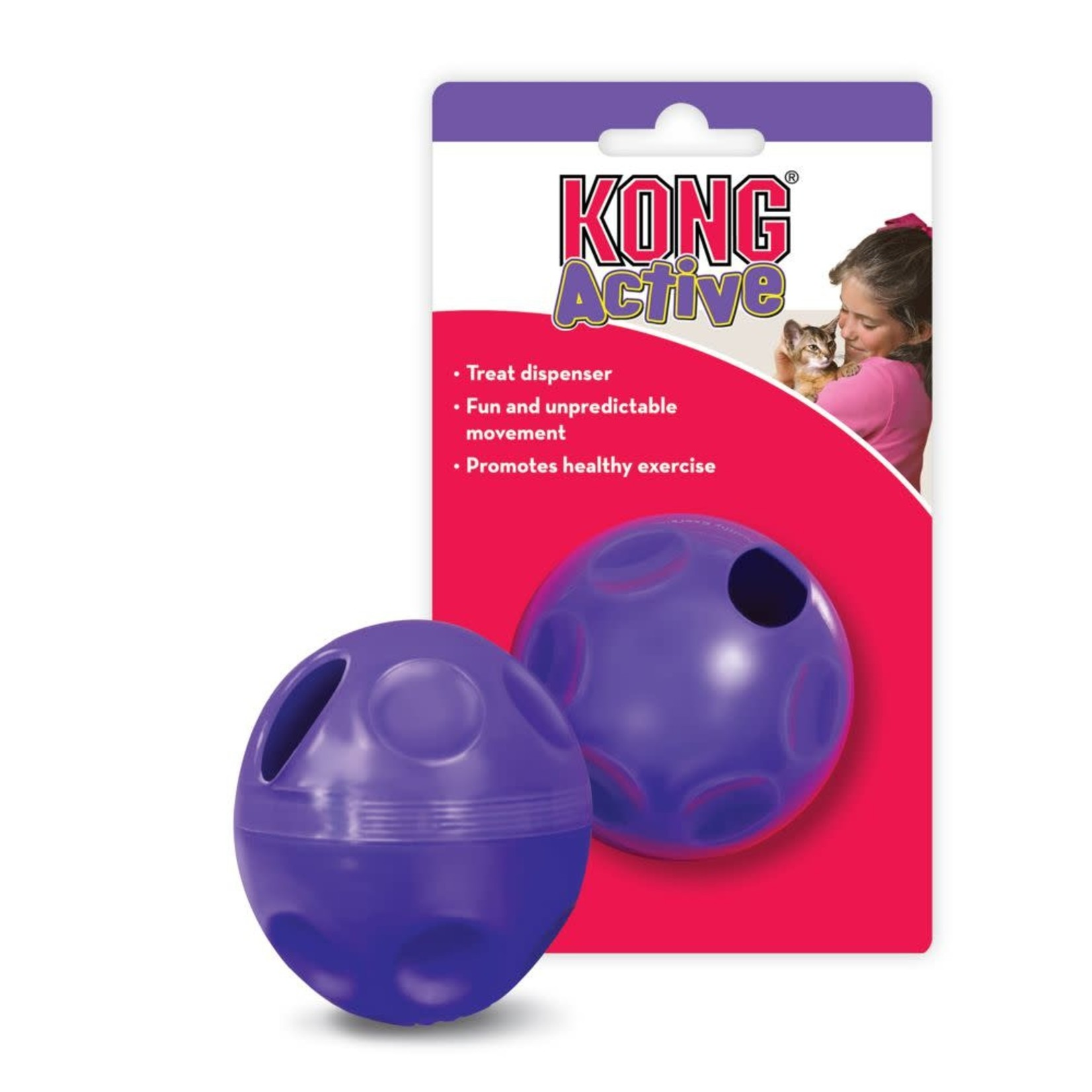 Kong Company Kong Cat Treat Dispensing Ball