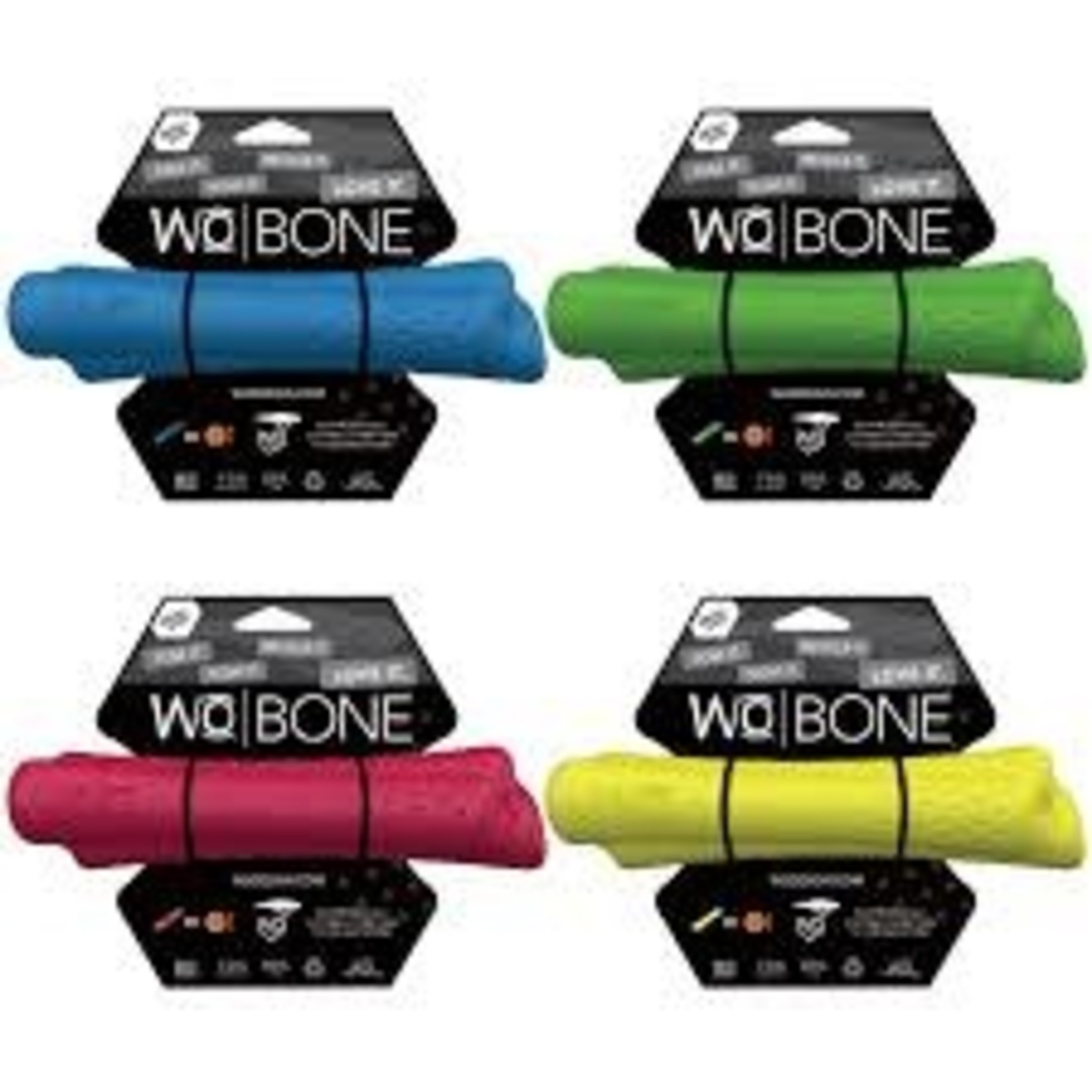 WO WO Dog Bone Blue Large