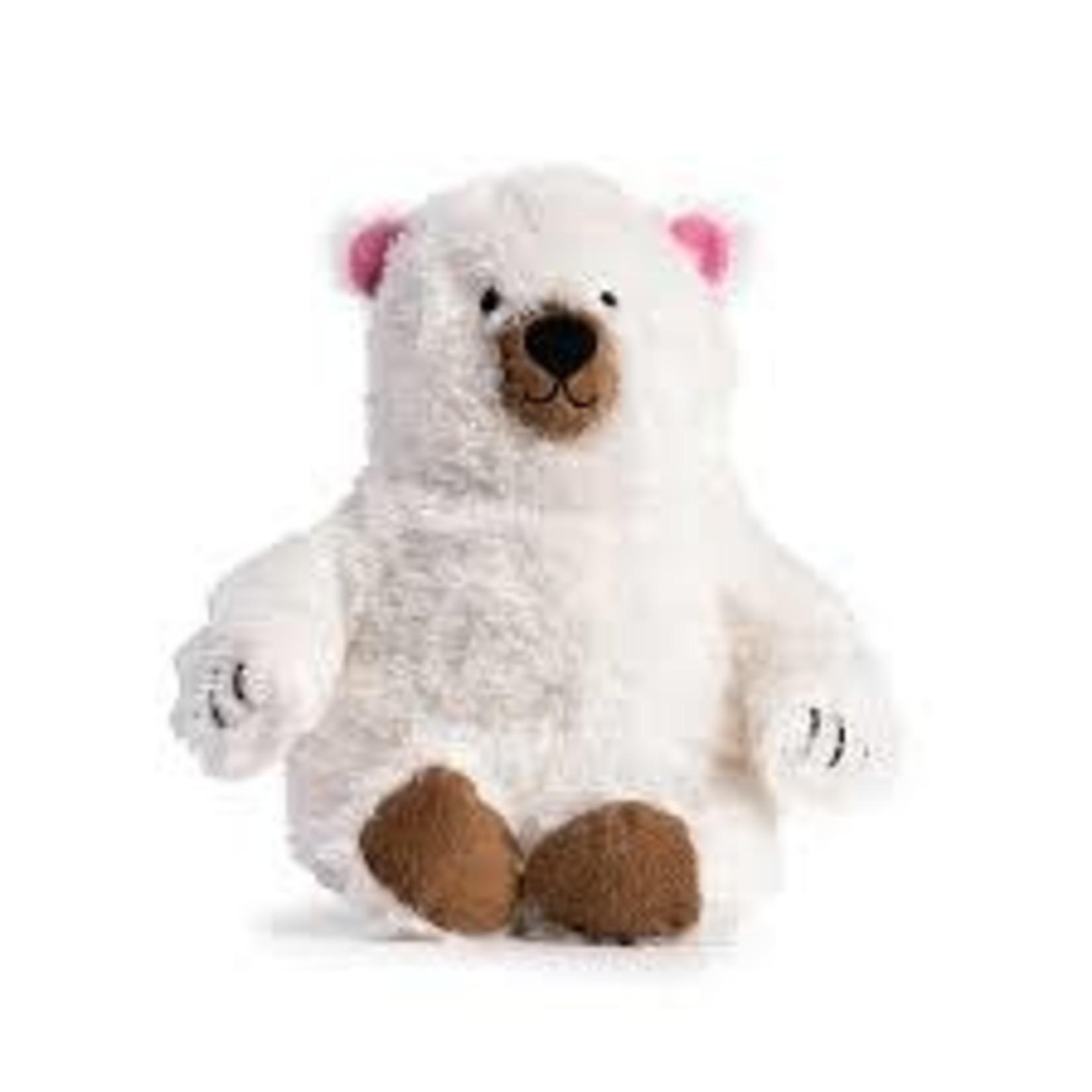 FabDog Fab Dog Fluffy Polar Bear Small