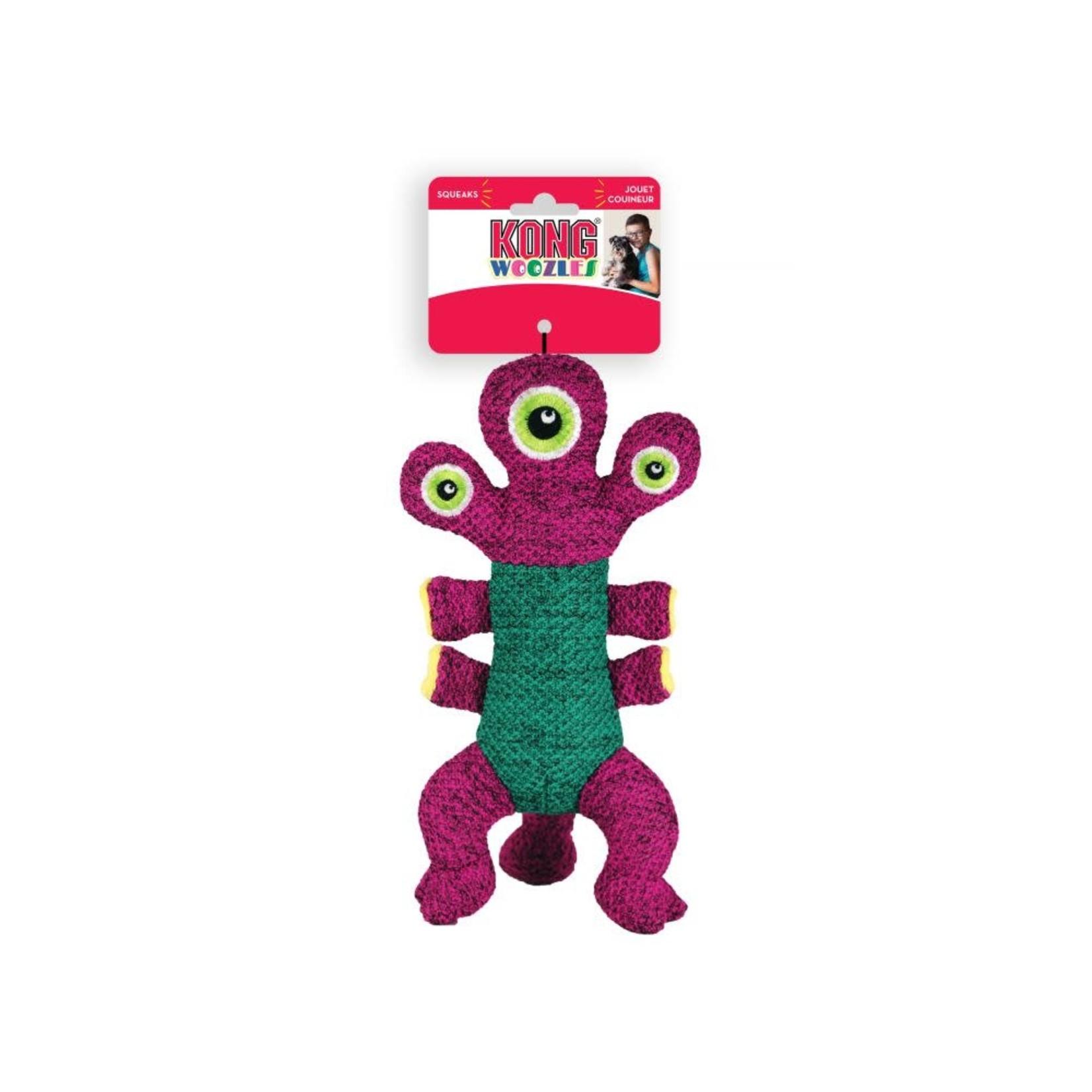 Kong Company Kong Dog Woozles Pink Medium