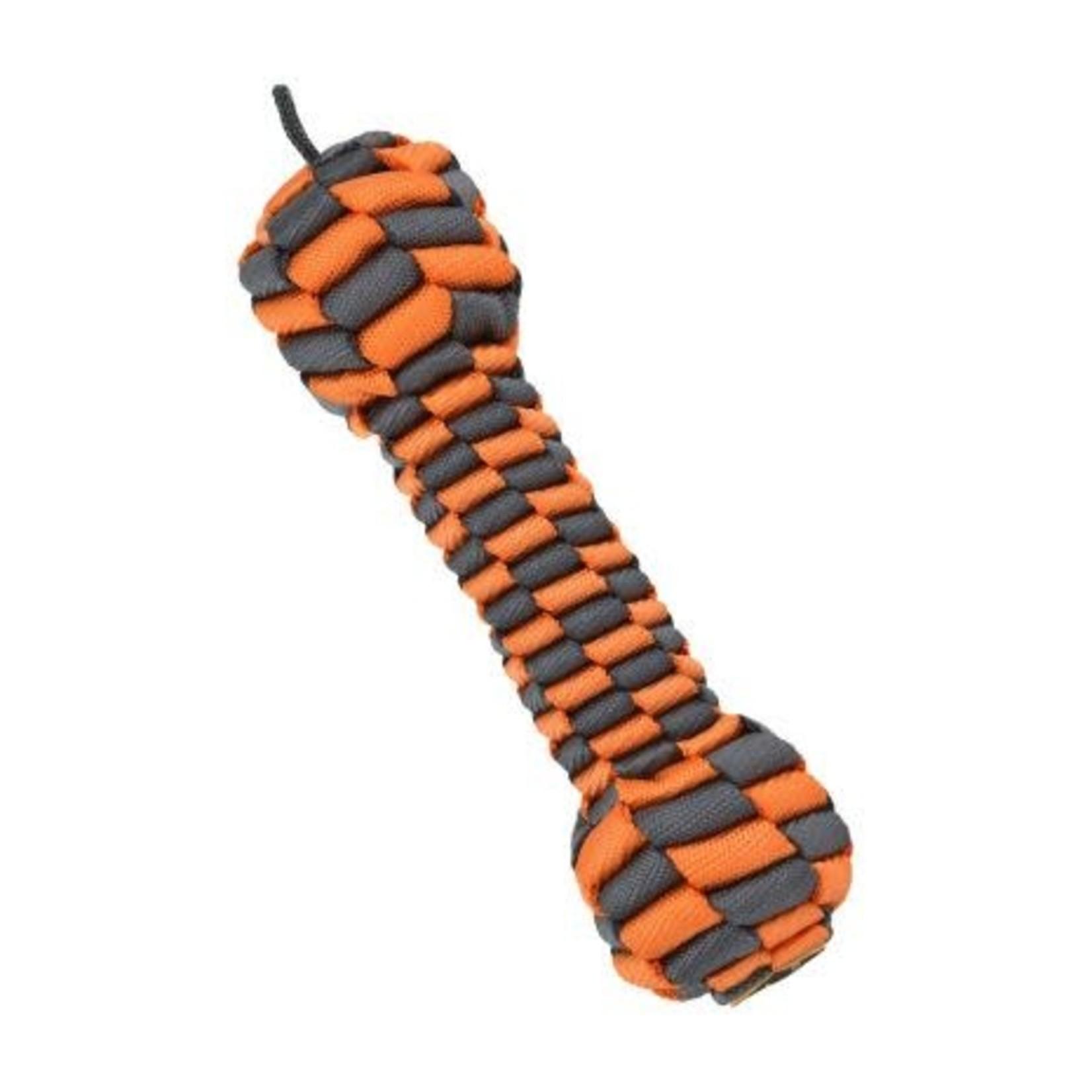 """Tall Tails Tall Tails Braided Bone Orange 7"""""""