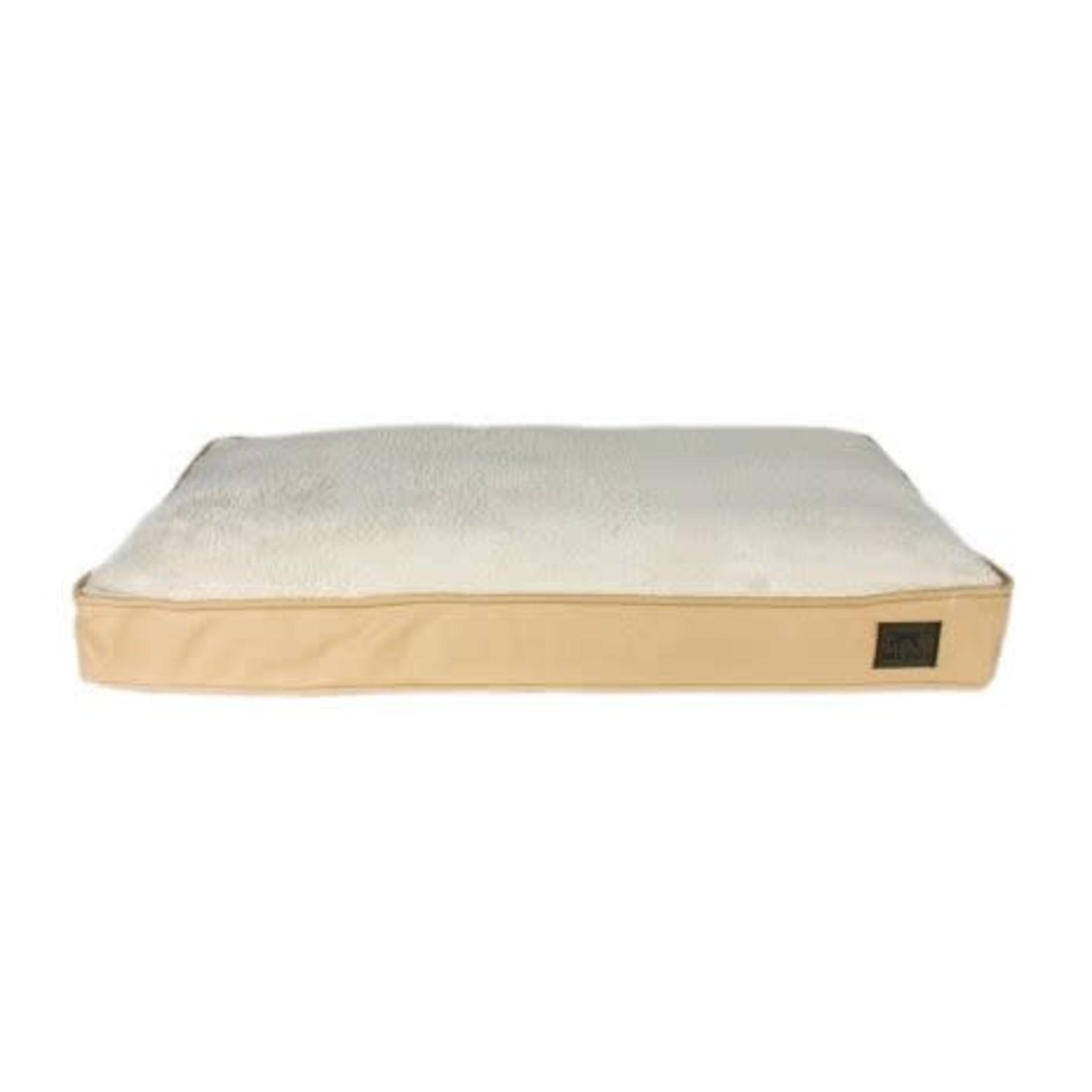 Tall Tails Tall Tails Cushion Bed Khakil Medium