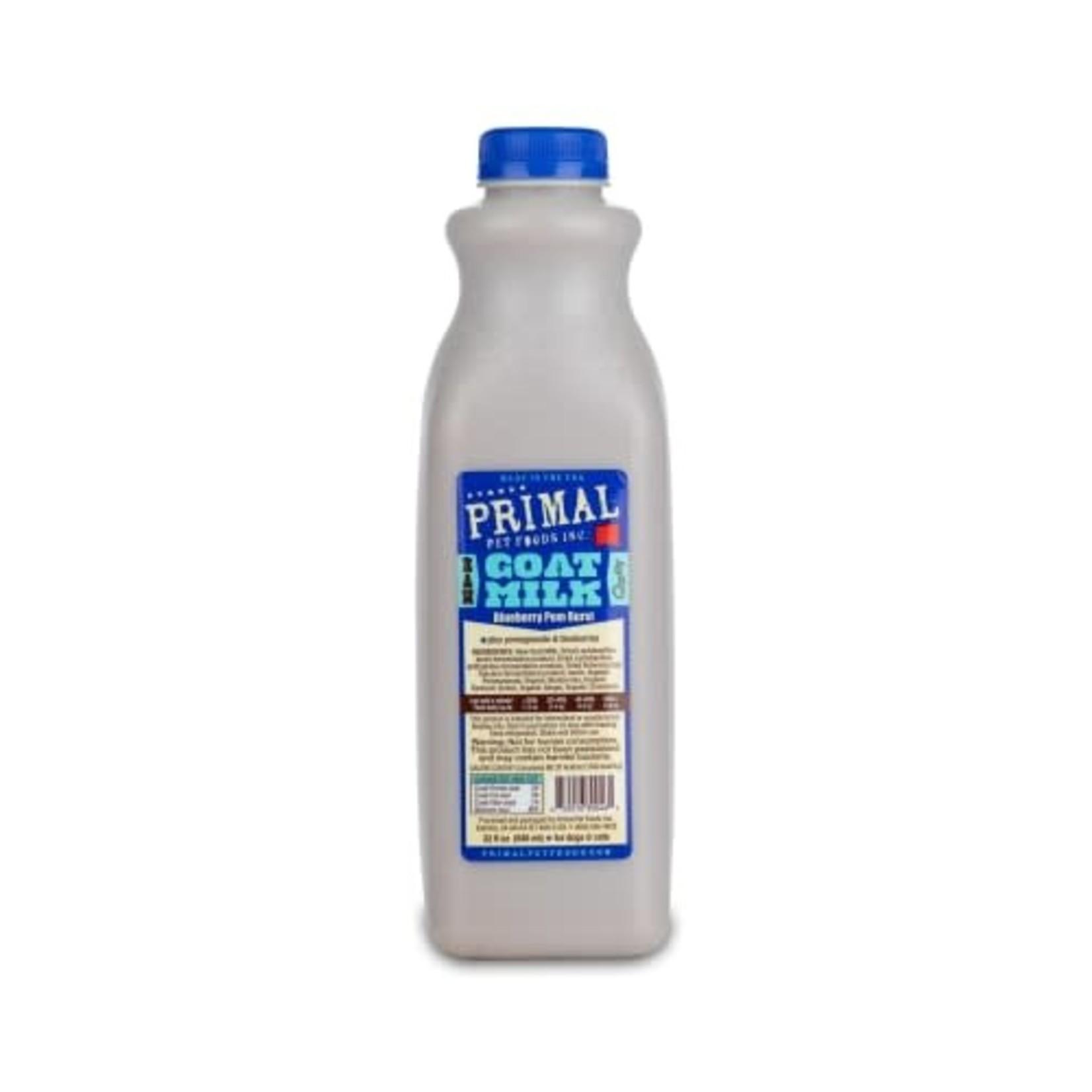 Primal Pet Foods Primal Frozen Raw Goat Milk Blueberry Burst 32 OZ