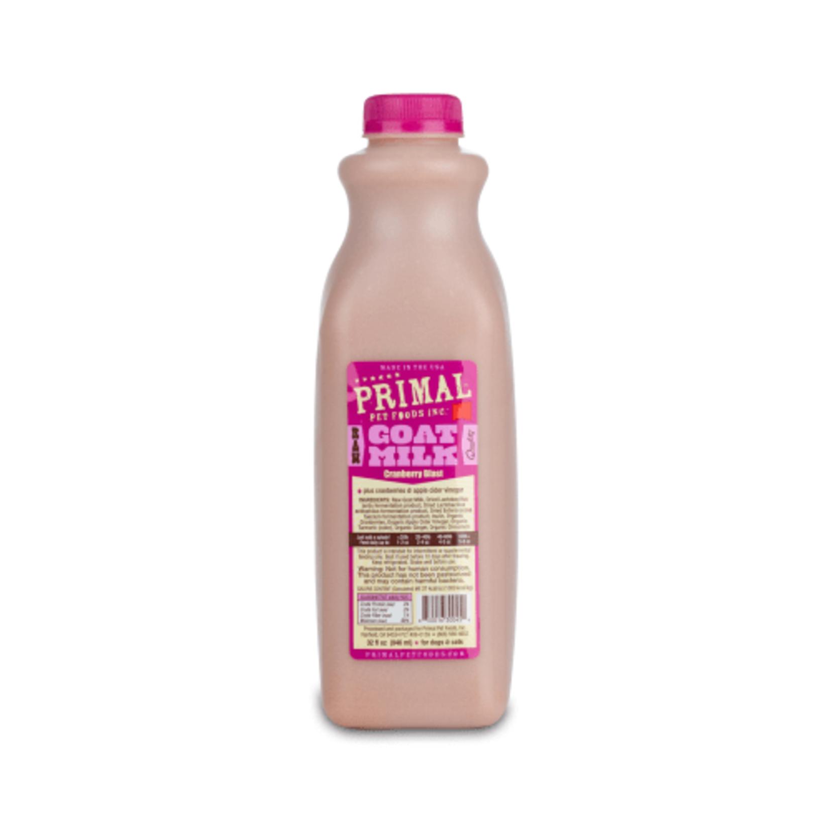 Primal Pet Foods Primal Frozen Raw Goat Milk Cranberry Blast 32 OZ