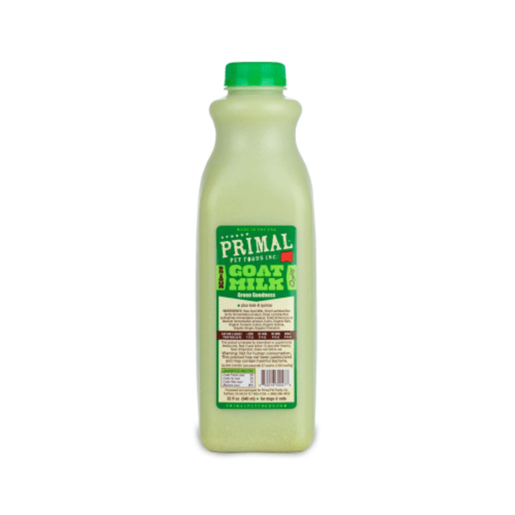 Primal Pet Foods Primal Frozen Raw Goat Milk Green Goodness 32 OZ