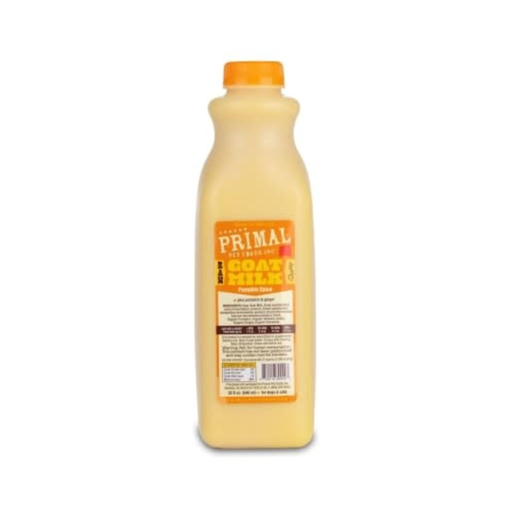 Primal Pet Foods Primal Frozen Raw Goat Milk Pumpkin Spice 32 OZ