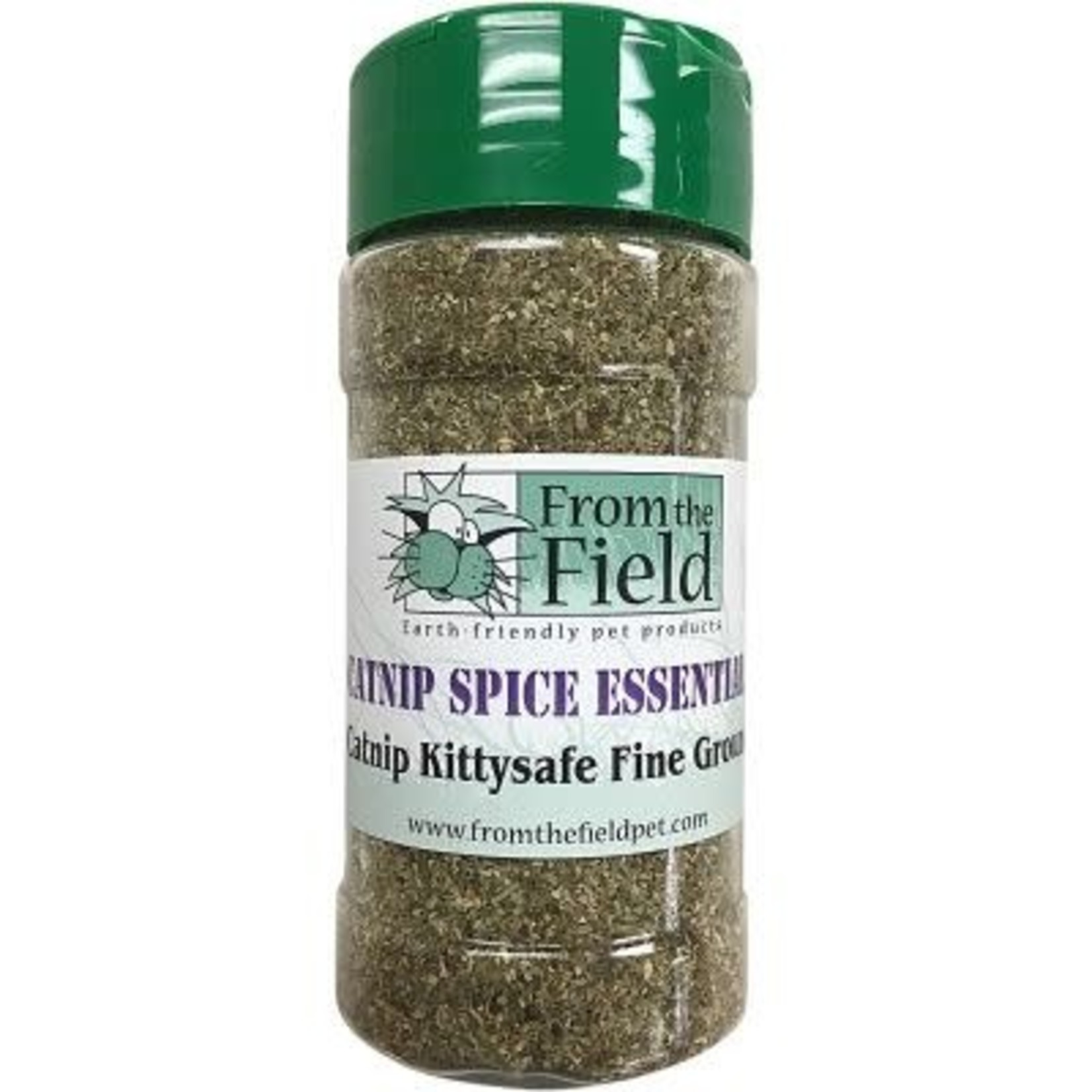 From The Field From The Field Catnip Spice Jar Kitty Safe Stalkless Fine Ground