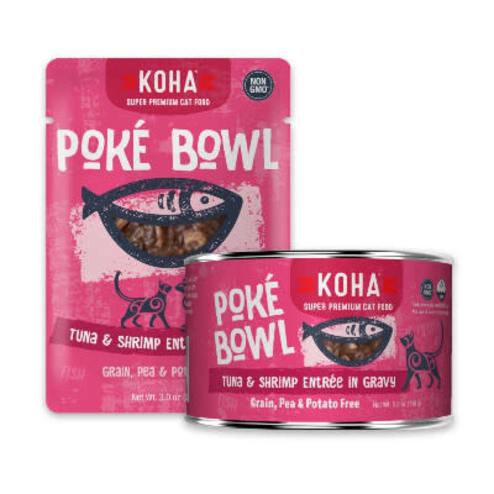 Koha KOHA Cat Poke Bowl Tuna & Shrimp 5.5 OZ