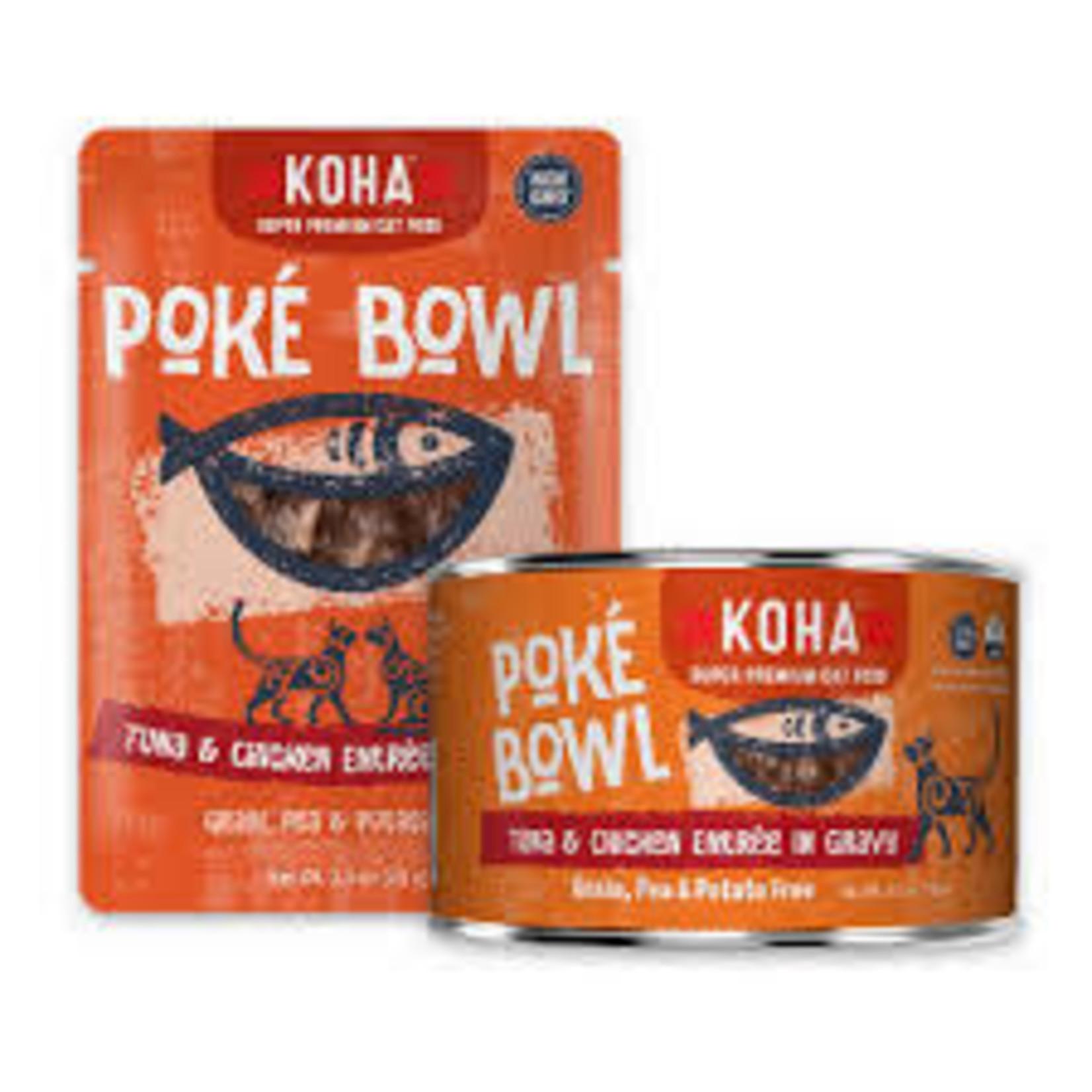 Koha KOHA Cat Poke Bowl Tuna & Chicken 5.5 OZ