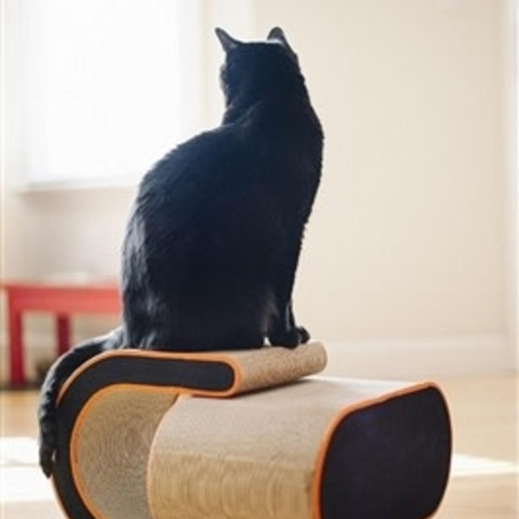 P.L.A.Y. PLAY The Arty Cat Scratcher Denim Mandarin