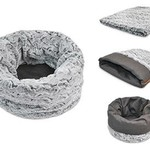 P.L.A.Y. PLAY Snuggle Bed Husky Light Gray Medium/Large