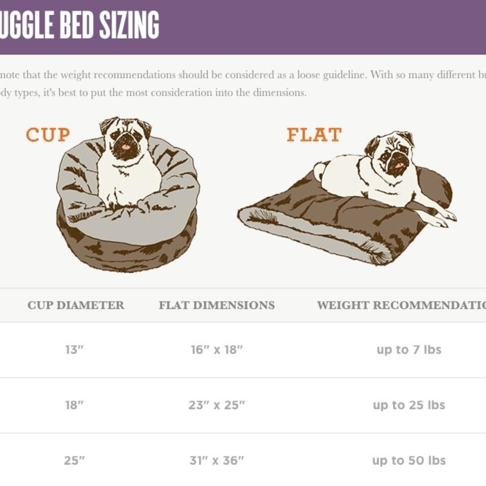 P.L.A.Y. PLAY Snuggle Bed Husky Light Gray Medium/Large