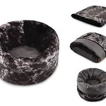 P.L.A.Y. PLAY Snuggle Bed Charcoal Dark Gray Medium/Large