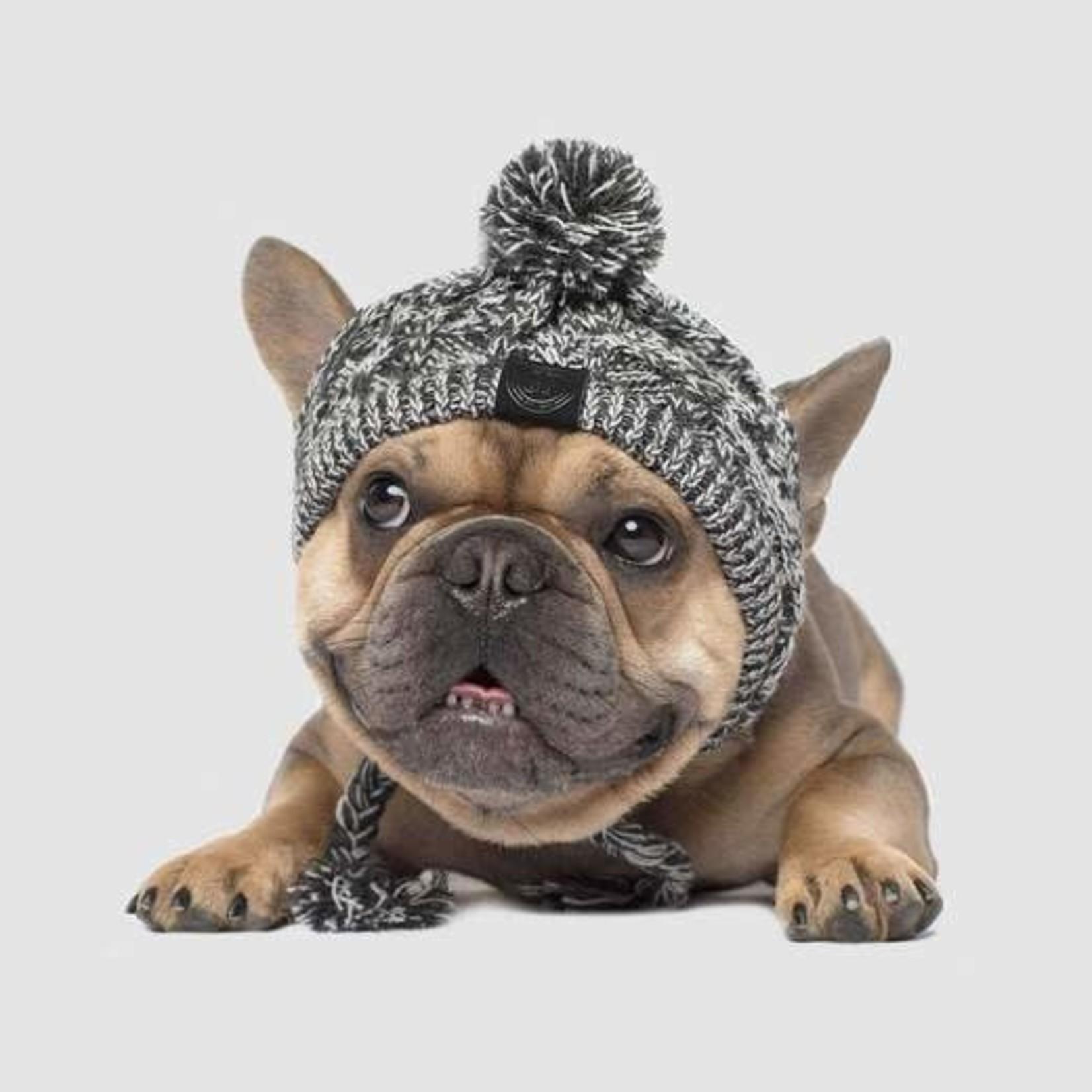 Canada Pooch Canada Pooch Pom Pom Knit Hat Charcoal Medium