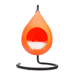 Kitty Kasas Kitty Kasa Siesta Hanging Cat Bed Orange