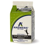 Answers Pet Food Answers Raw Fermented Goat Milk 16 OZ