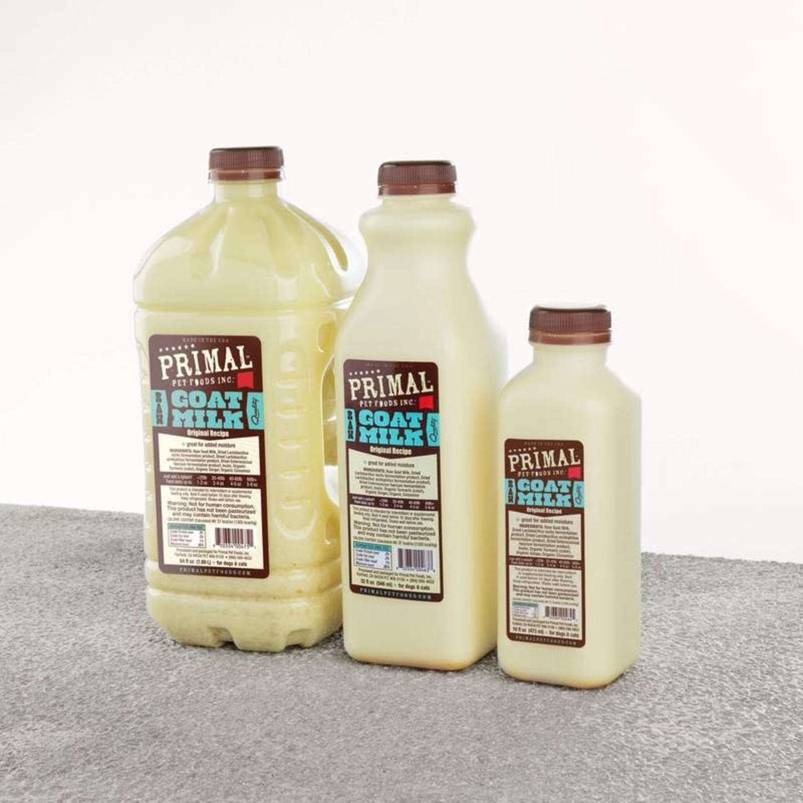 Primal Pet Foods Primal Frozen Raw Goat Milk 64 OZ