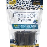 ProDen Plaqueoff Proden Dog Mini Dental Bone Blueberry Fusion 12 OZ
