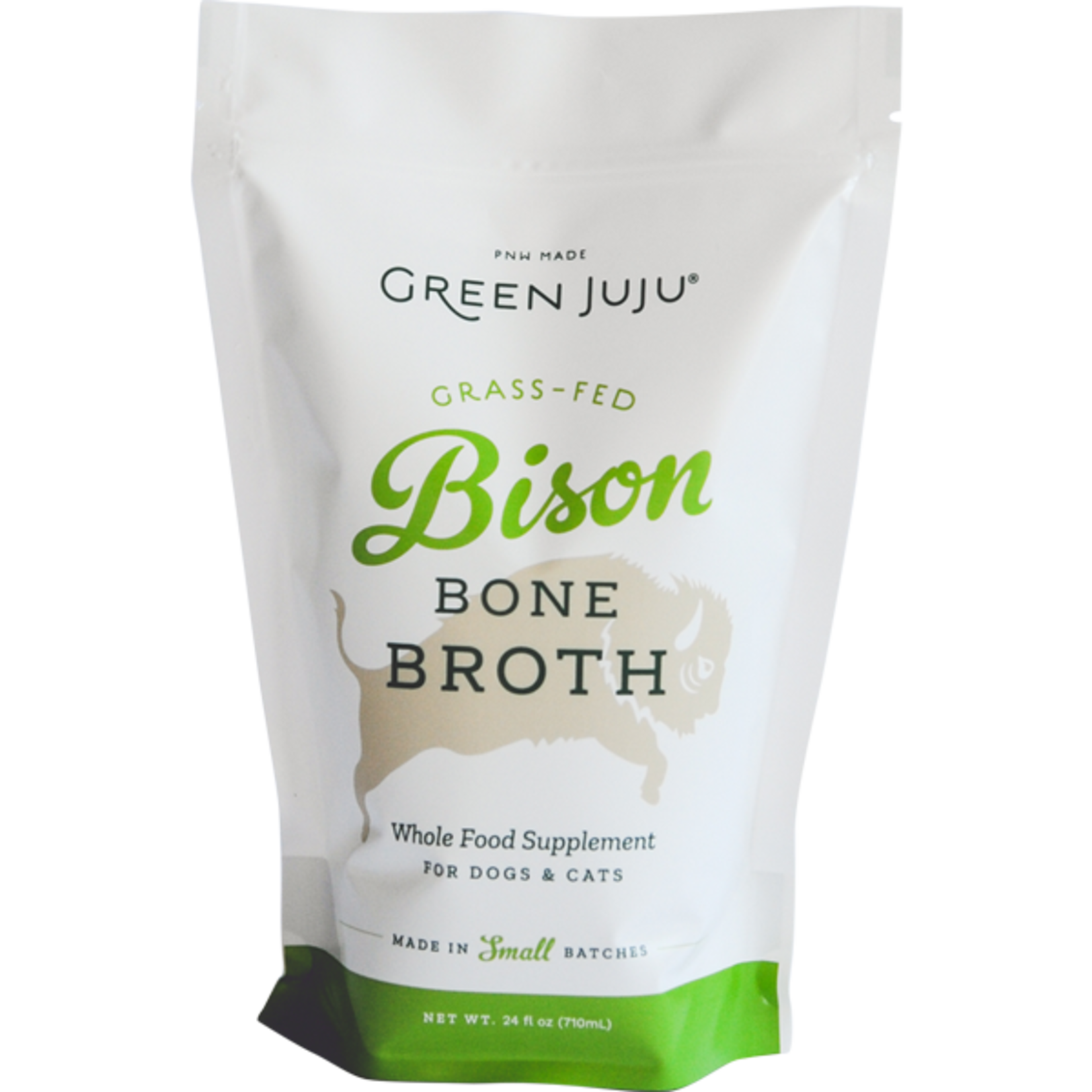 Green Juju Frozen Bison Bone Broth 20 OZ