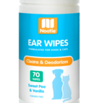 Nootie Ear Wipes Sweet Pea Vanilla 70 Count