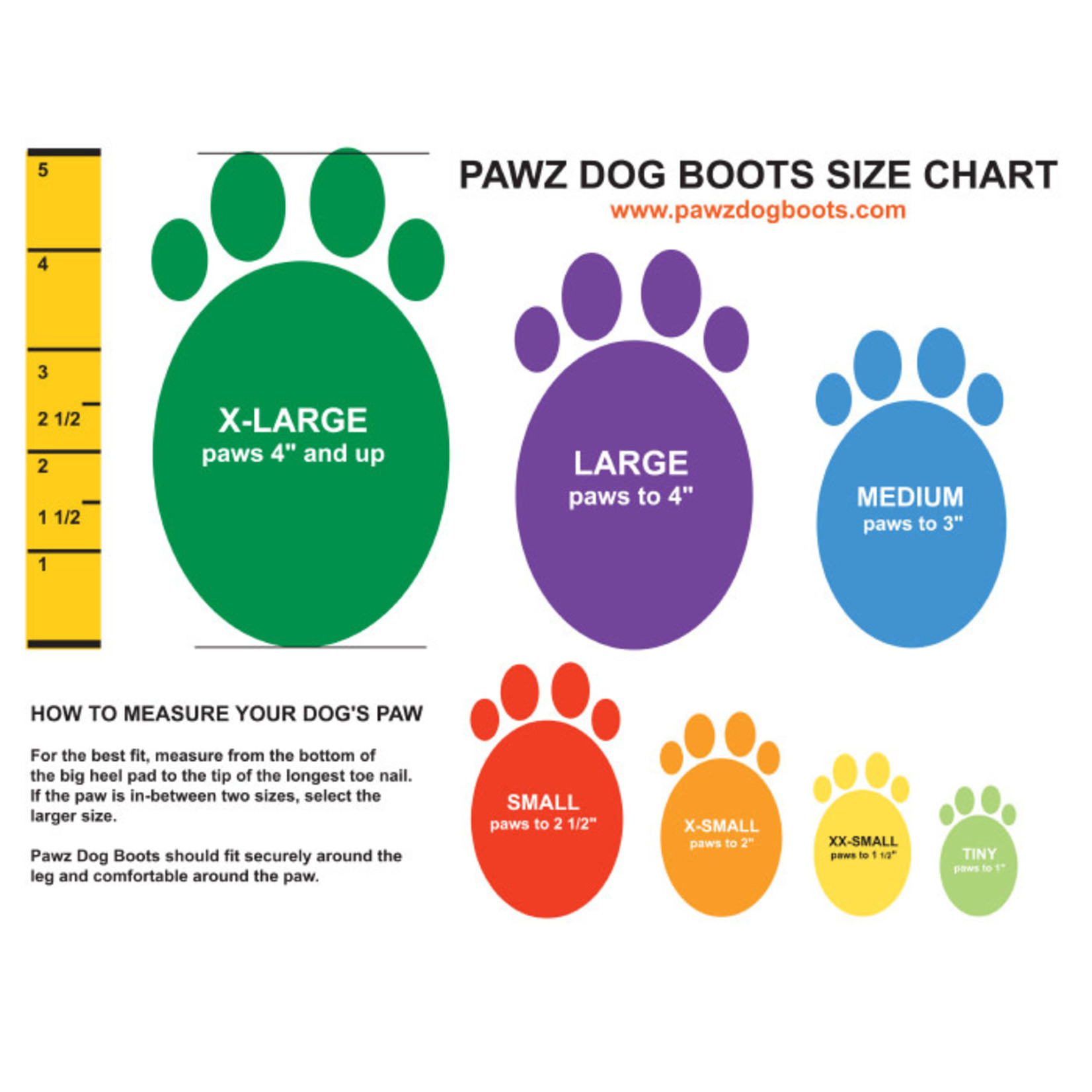Pawz PAWZ Dog Boots Camo Large 12 Pack
