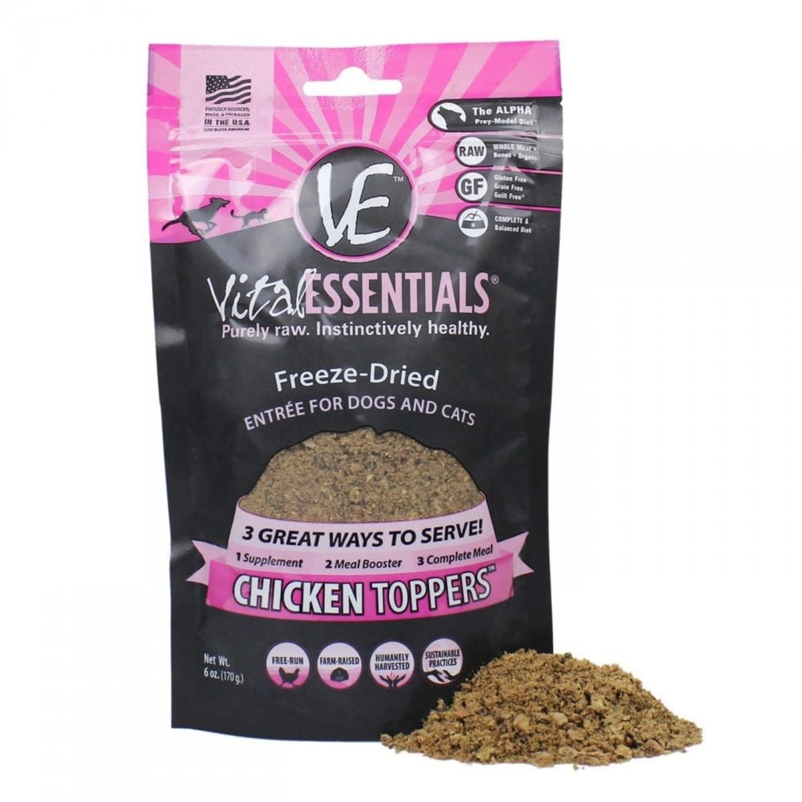 Vital Essentials Vital Essentials Freeze-dried Meal Boost Topper Chicken 6 OZ