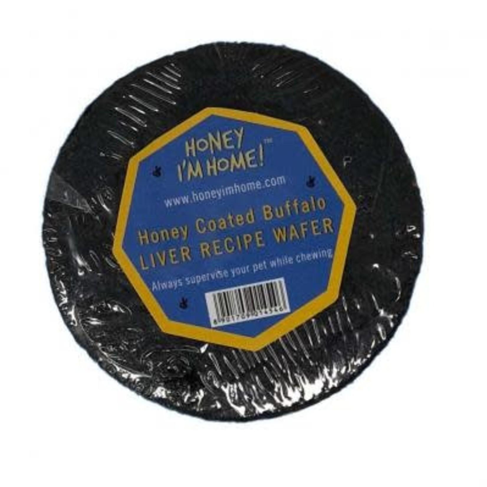 Honey Im Home Honey Im Home Buffalo Liver Wafer