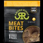 Raised Right Raised Right Meat Bites Turkey 5 OZ