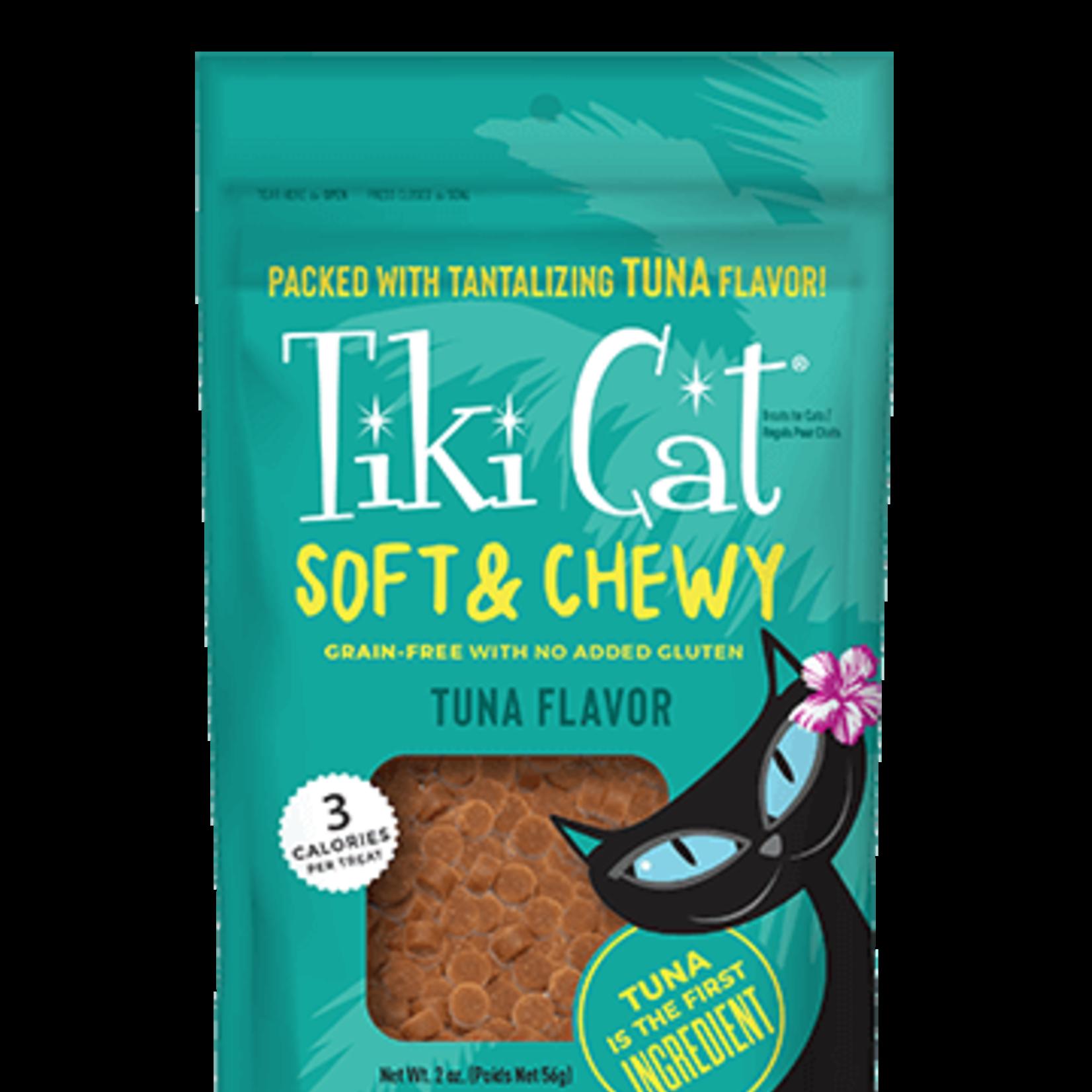 Tiki Pets Tiki Cat Soft & Chewy Tuna Treats 2 OZ