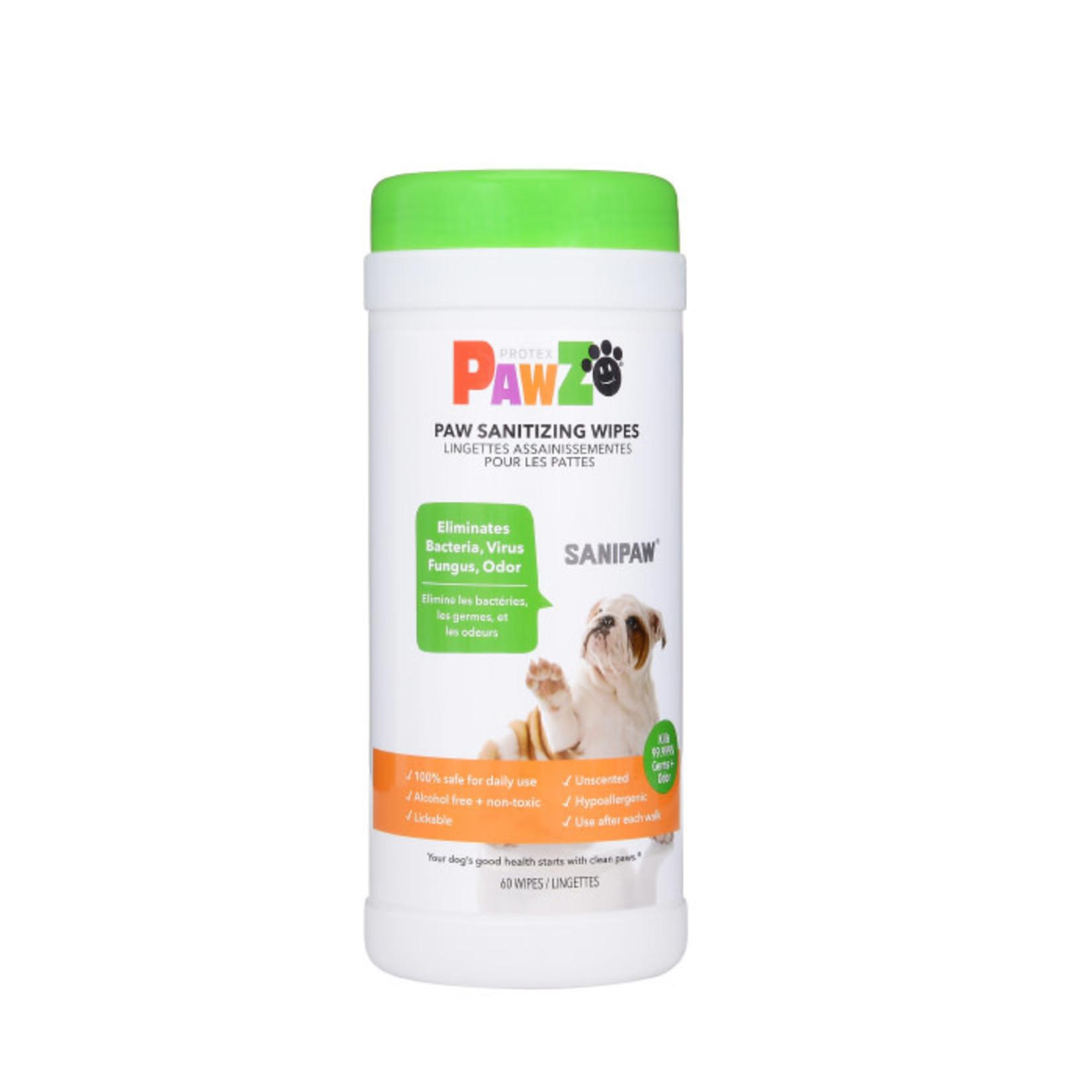 Pawz PAWZ Dog Sanipaw Wipes 60 Count
