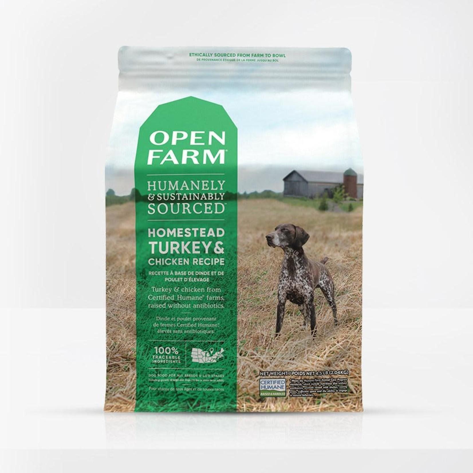 Open Farm Open Farm Dog Grain Free Turkey & Chicken 4.5#