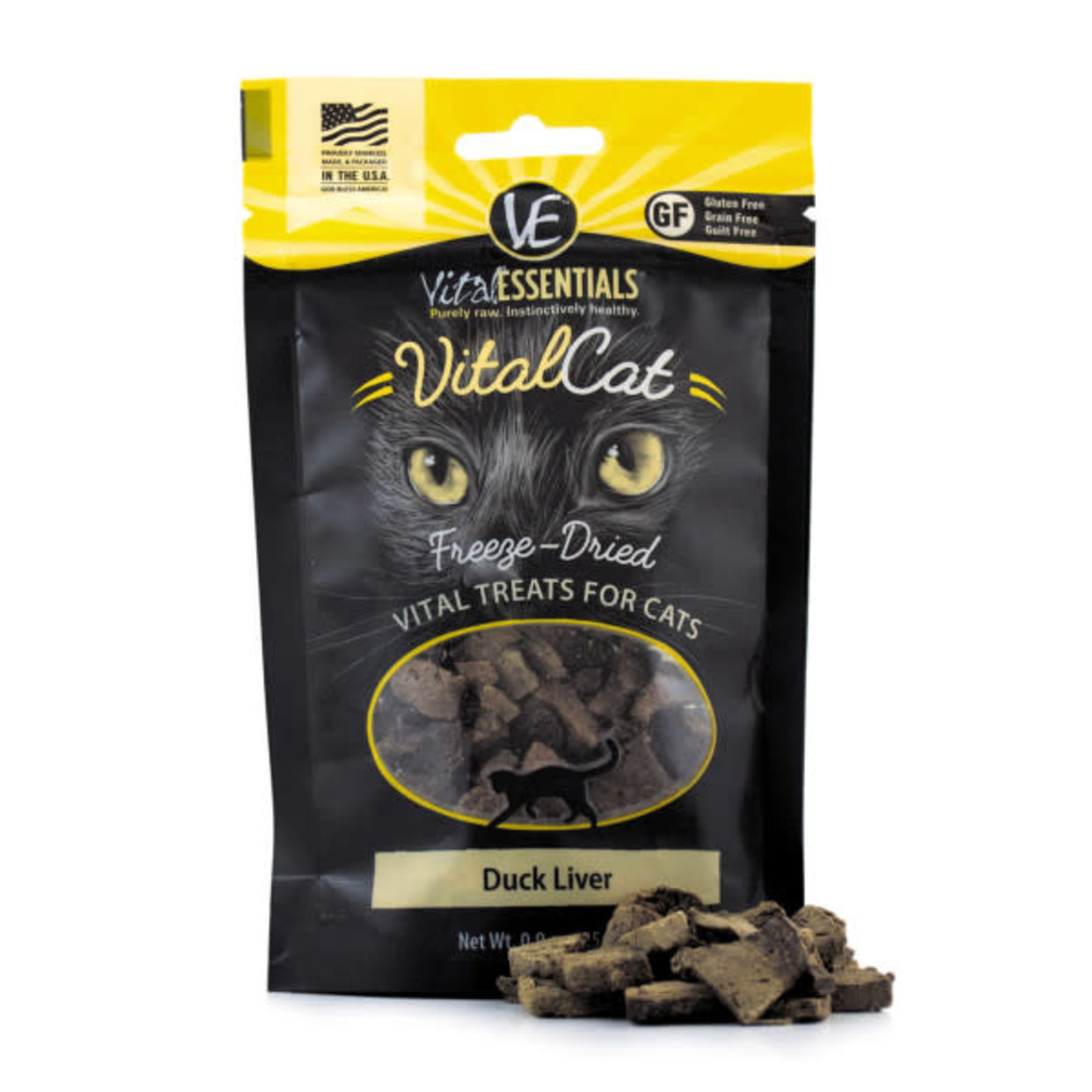 Vital Essentials Vital Essentials Cat Freeze-Dried Duck Liver Treat
