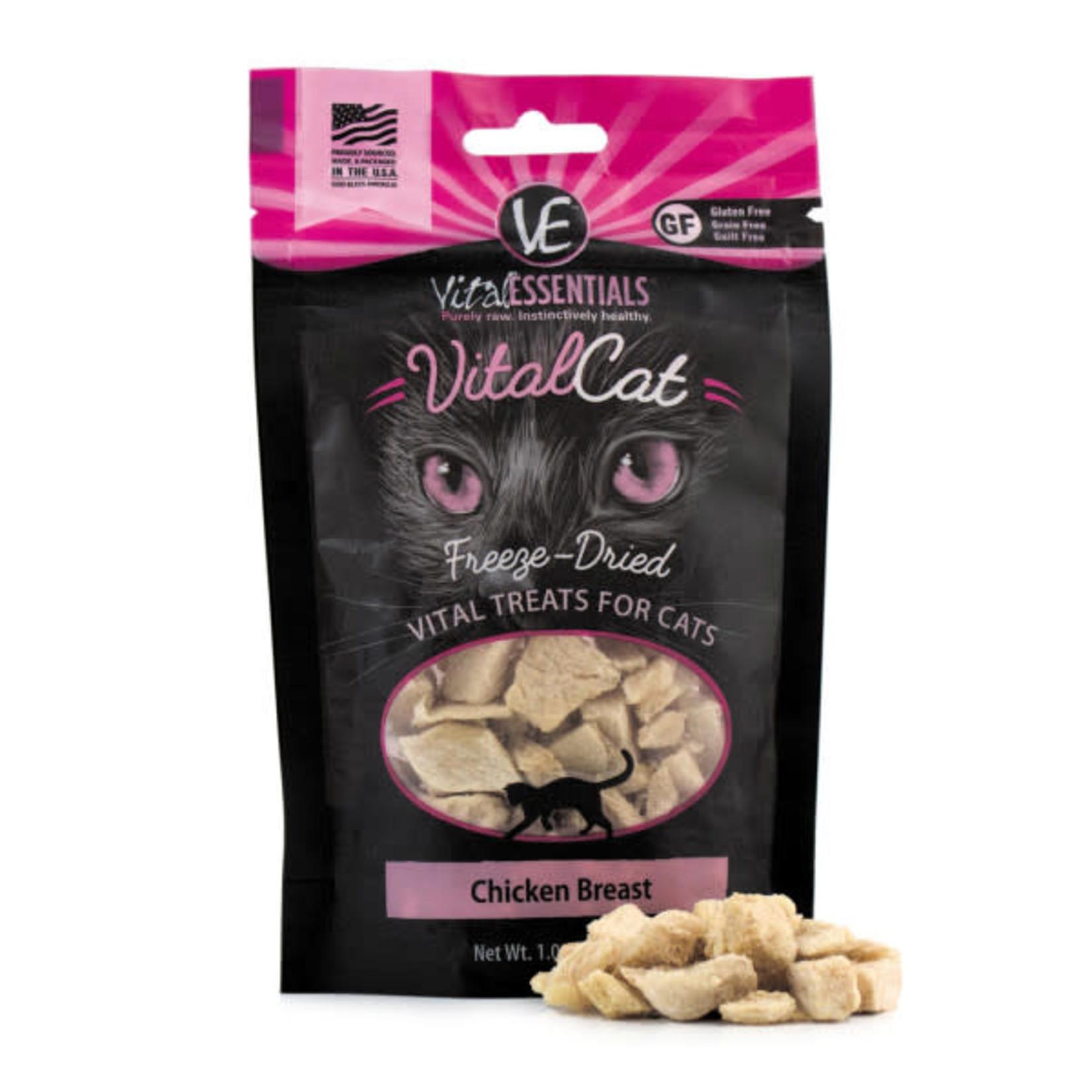 Vital Essentials Vital Essentials Cat Freeze-Dried  Chicken Breast Treat