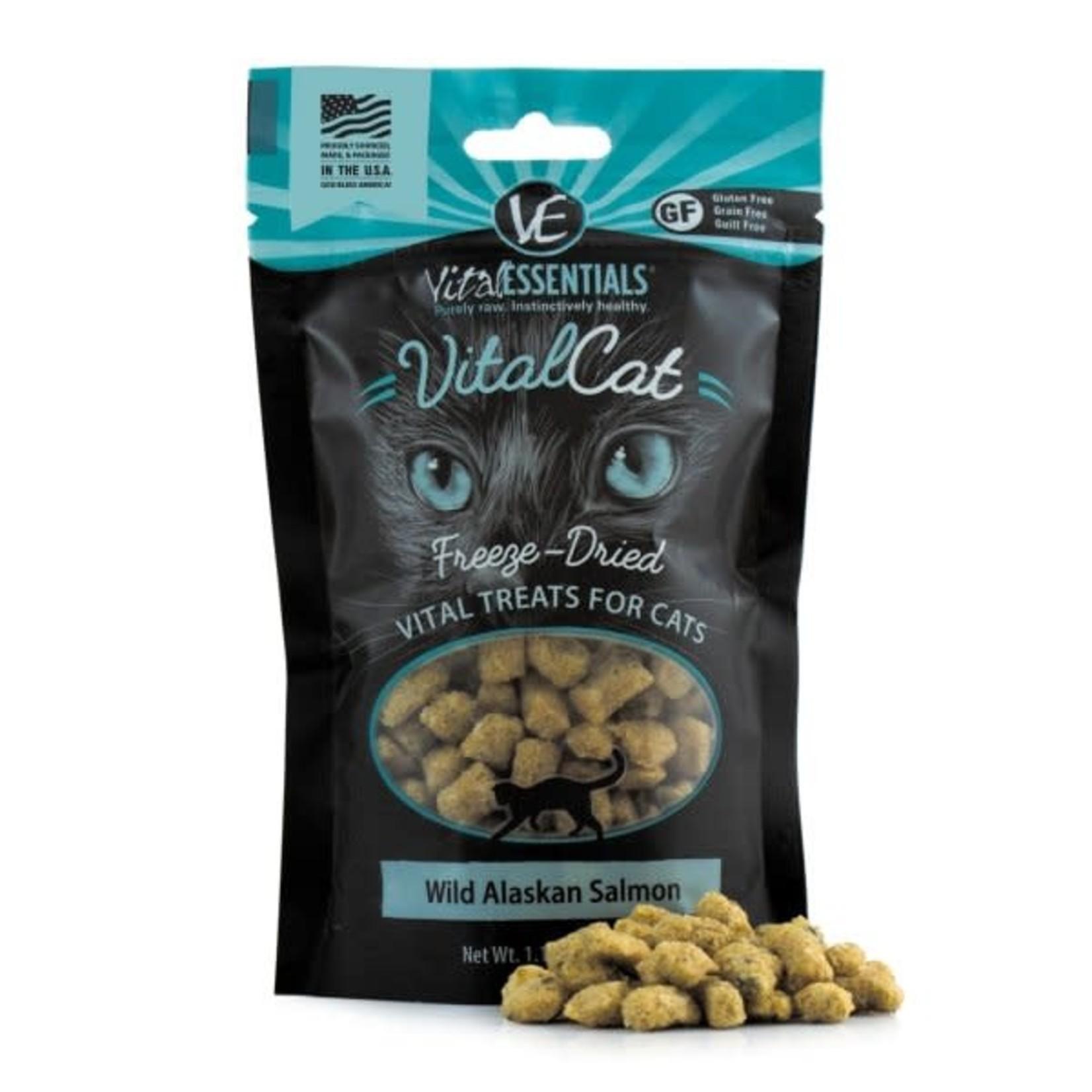 Vital Essentials Vital Essentials Cat Freeze-Dried Wild Alaskan Salmon Treat
