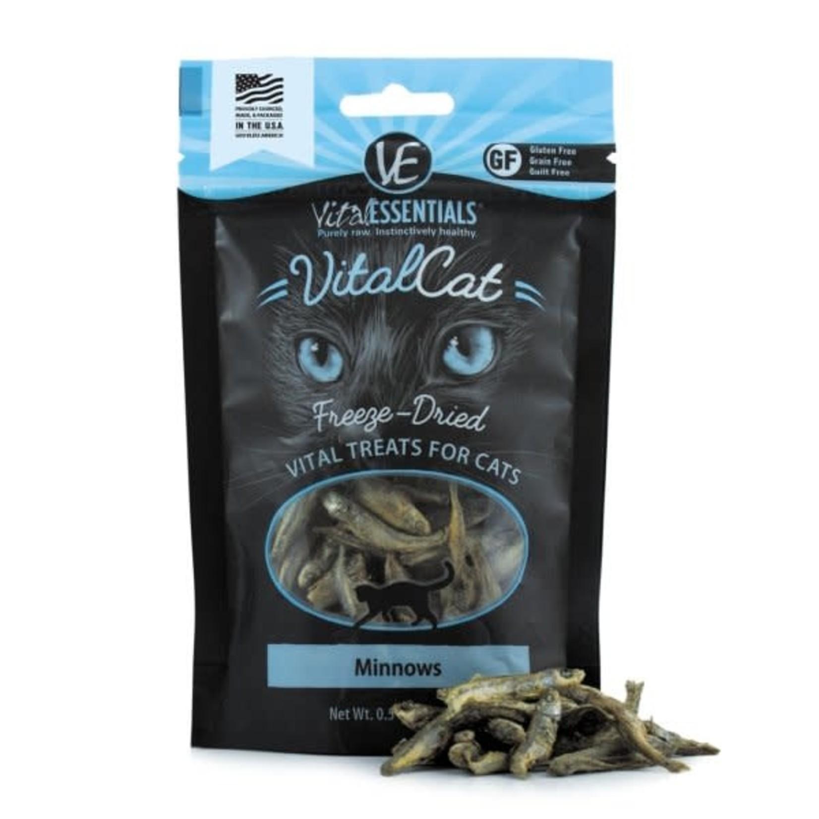 Vital Essentials Vital Essentials Cat Freeze-Dried Minnows Treat