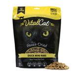 Vital Essentials Vital Essentials Cat Mini Nibs Duck 12 OZ